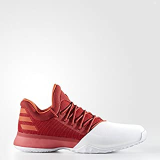 adidas Herren Harden Vol. 1 Turnschuhe, Red/White, UK18