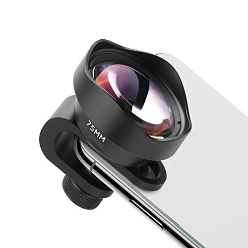 KCaNaMgAl Handy-Makroobjektiv, externes Objektiv des Handys 75MM Makroinsektenblumenschmuck, der Makroobjektivschießen