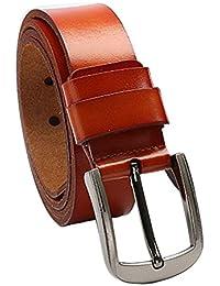 Cinturón de cuero 120cm de las correas de los HOMBRES