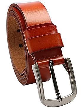 Cinturón de cuero 120cm de las correas de los HOMBRES 2822e8dcd3d