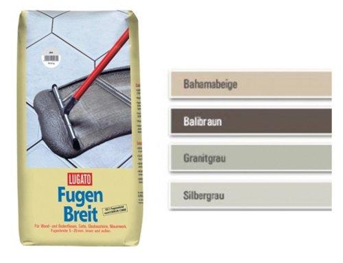 Lugato Fugenbreit 20 kg grau