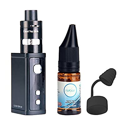Kebor E Cig 50W Cloud Starter Kit 2ml Tank Nicotine Free from Kebor