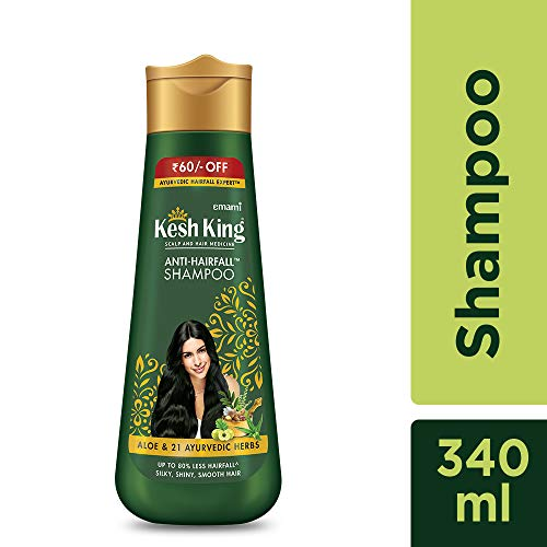 Kesh King Anti Hairfall Shampoo with aloe and 21 herbs, 340ml 1