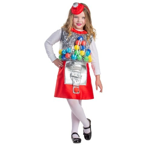 Dress Up America Gumball Machine Kostüm für -