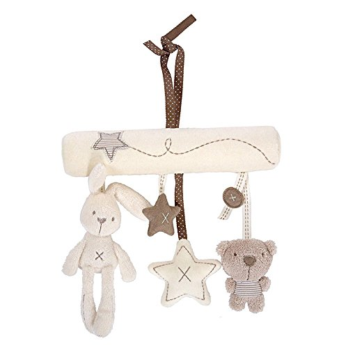 Mobile Baby Stoff Musik - Sterne Tiere