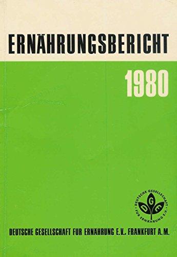 Ernährungsbericht 1980