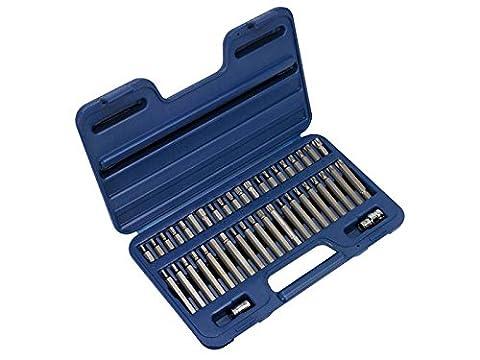 "Sealey AK219 - TRX-Star/Spline/Hex Bit Set 42pc 3/8"" & 1/2""Sq Drive"