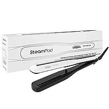 L'Oréal Professionnel Paris SteamPod 3.0 piastra per capelli professionale a vapore, 2 in 1, per styling liscio e onde morbide, riduzione dei danni grazie al vapore rispetto a una piastra tradizionale