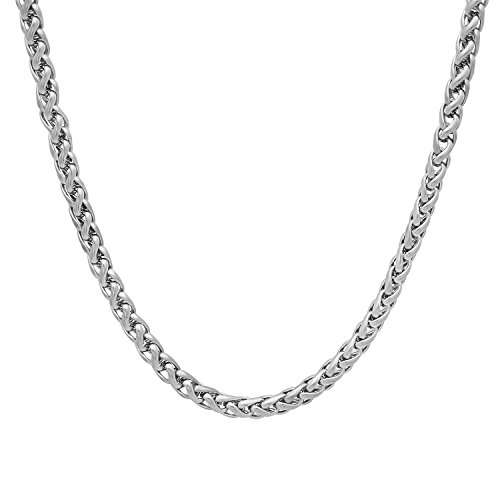 3mm-durable-stainless-steel-rounded-braided-wheat-chain-necklace-50-cm