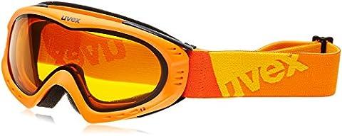 UVEX Skibrille F 2, Orange Mat/Lasergold Lite, One size,