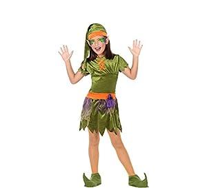 Atosa-56908 Disfraz Duende, Color Verde, 3 a 4 años (56908