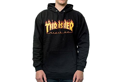 Thrasher Hoodies Thrasher Richter Hoodie Black Schwarz -protec ... 5ebd0a12f8ce