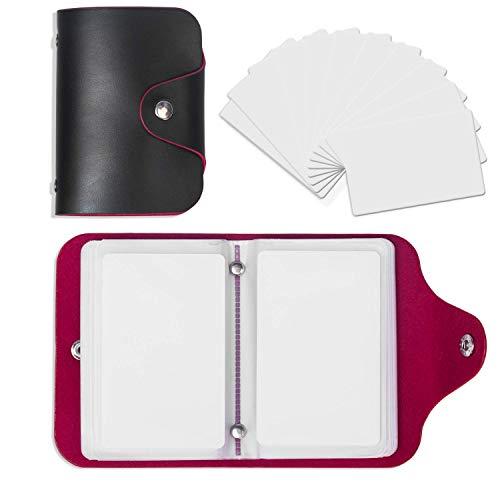 TimesKey 23 Stück NFC Tags NXP NTAG215 ISO PVC NFC Karte Kompatible Mit Amiibo TagMo Für die Herstellung Von Zelda, 22 Stück Set Mit Kartenhalter(22 Stück +1 Stück Bonus Karte)