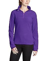 Lafuma Fleece Halfzip Ld Greenlight T - Sudadera para mujer, color lila, talla L