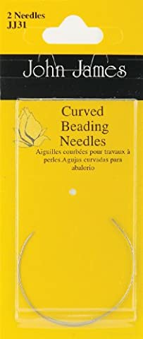 John James Curved Beading Needles Qty 1