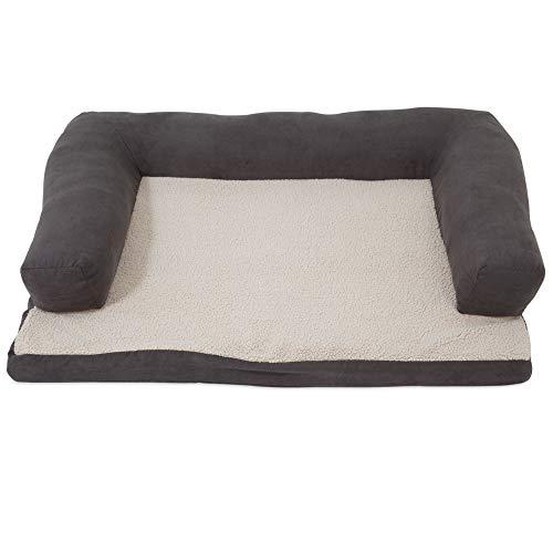 Aspen Pet verstärkt Ortho Pet Bett, 101,6x 76,2cm Sortiert blau/braun