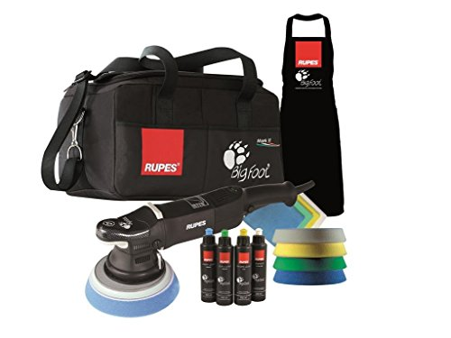 *RUPES Poliermaschine LHR 21 Mark 2 II – 1 Stk. Big Foot Exzenter Polisher im Deluxe Set*