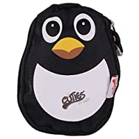 Cuties and Pals Kids Soft Foldable Backpack Peko The Penguin | Childrens Rucksack | Child