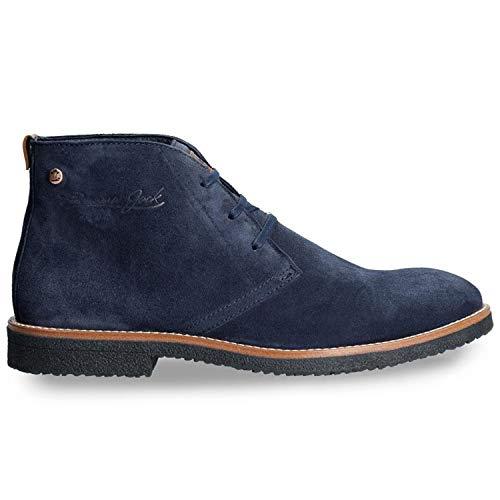 Panama Jack Herren Boots Gunter C2 Velour blau - 42 -