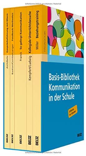 Basis-Bibliothek Kommunikation in der Schule: 5 Bände im Schuber