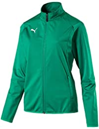 Puma Liga Training W Chaqueta de Entrenamiento, Mujer, Pepper Green/White, XL