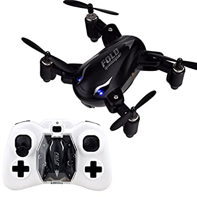 X31 Mini Rc Quadcopter Drone GEEDIAR 2.4G 4CH 6Axis 3D Roll Foldable RC Quadcopter with One Key to Return & Light Fly