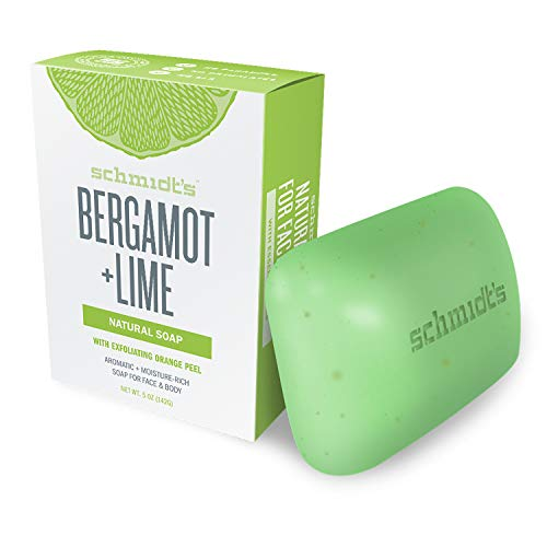 Schmidt's Jabón Natural Pastilla Bergamota Lima Vegana