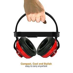 Amkette Trubeats Free Spirit Rousing Rebel Headset (Red)