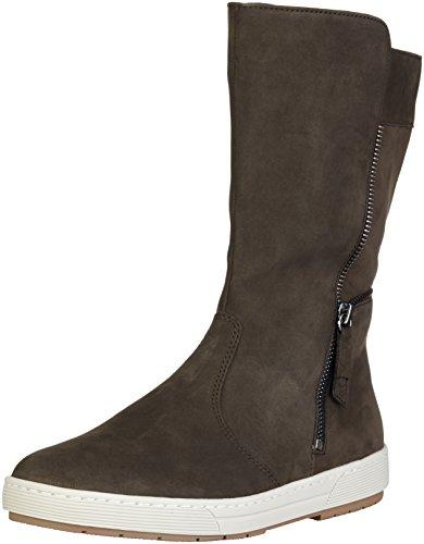 Ganter 2-204272, Stivali a metà gamba con imbottitura pesante Donna Verde (fango 5600)