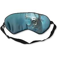 Eye Mask Eyeshade Seal Underwater Sleeping Mask Blindfold Eyepatch Adjustable Head Strap preisvergleich bei billige-tabletten.eu