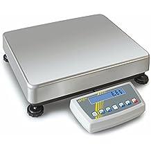 Balanza de plataforma con aprobación de homologación [Kern DS 65K1M] Balanza industrial con precisión de laboratorio, Campo de pesaje [Max]: 65 kg, ...