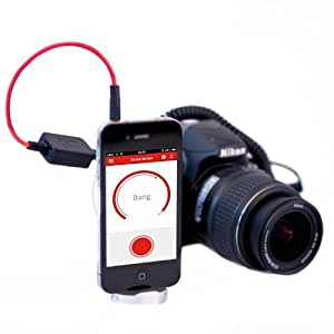 Triggertrap Smartphone-Kabelauslöser Mobile Dongle V2 (mit Kabel für Nikon MC-30) Fernauslöser für iPhone, iPad, iPod Touch, Android (Langzeitbelichtung, HDR, Timelapse etc.) Trigger Trap Auslöser