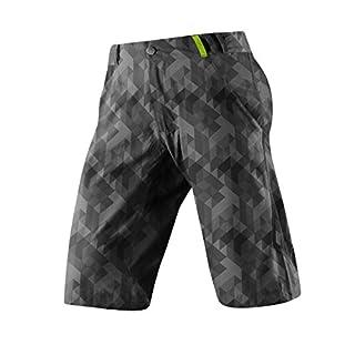 Altura Herren Apache Shorts, Grau (Grey Digital Camouflage/Blue), S
