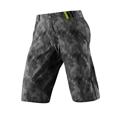 Altura Mtb Shorts Apache Grau Digital Camo-Schwarz (X-Large , Grau) (Short Camo Digital)