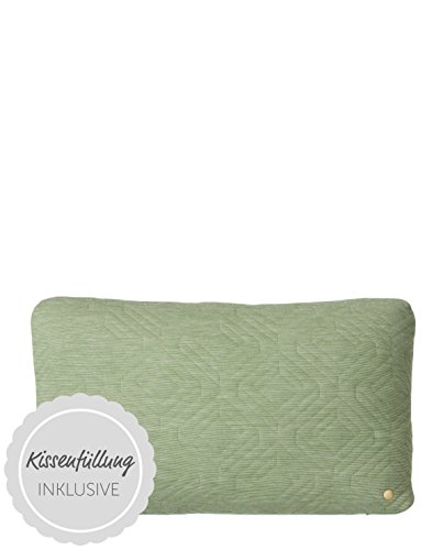 Quilt Cushion - Green - 60 x 40
