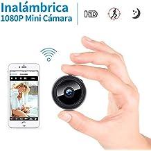 Mini cámara Oculta espía HD WiFi FREDI con visión Nocturna y conexión remota Desde iPhone/
