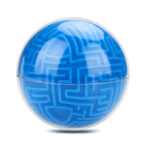 c Labyrinth Puzzle Ball, Cube Spiel Erde Ball Bulk Labyrinth Spielzeug Gehirn Foreplay Spiel Lernen Bildung Lernspielzeug ()