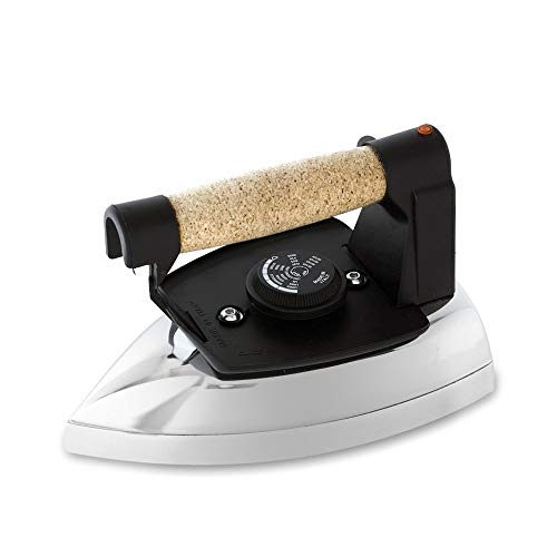 EOLO Stir Sat FR04 Plancha A SECO Profesional 850W Plate Satinado Mango EN Corcho
