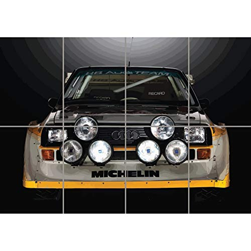 AUDI SPORT QUATTRO S1 RALLY CAR GIANT WALL ART PRINT PICTURE POSTER PLAKAT DRUCK G1221