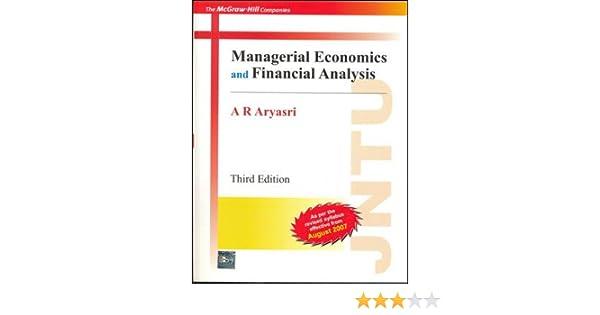 managerial economics aryasri
