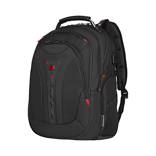 Wenger Pegasus Deluxe Laptoprucksack - 14\'\'-16\'\' Laptopfach 10\'\' Tabletfach USB-Stecker Damen/Herren - Schwarz