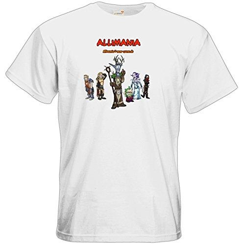 getshirts - Stevinho & Allimania - T-Shirt - Allimania Classic - Miracoli White
