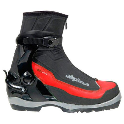 Alpina SPORTS bc-2250wartet Langlauf Nordic Ski Stiefel für nnn-bc Bindungen, schwarz