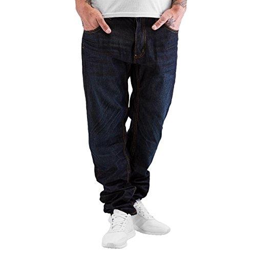 Rocawear Herren Jeans / Antifit Tapered Loose Fit Blau