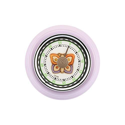 THUN® - Timer Magnetico da Cucina Lilla con Farfalla - Stile Retro ...