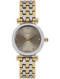 Giordano Analog Silver Dial Women's Watch - F0001-05