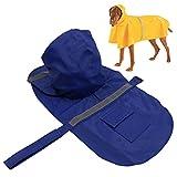 PETBABA Haustier ECO Leichte Einstellbare Reflektierende Regenjacke Regenmantel Jacke für