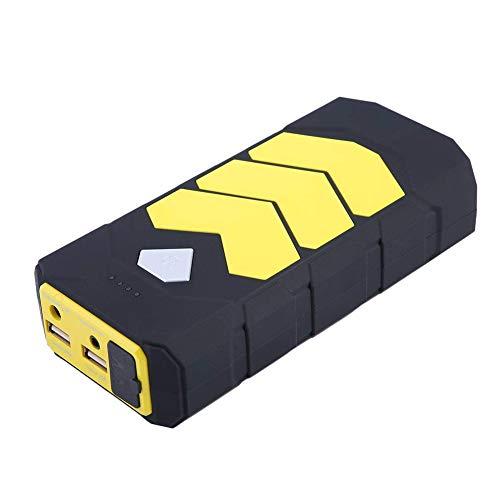 20000mAh Auto Starthilfe, Tragbare Autobatterie Anlasser Sofort Starthilfe Externer Akku Ladegerät mit 2 USB Ausgänge,LED Taschenlampe,für Notfall Car Jump Starter,commonconfiguration -