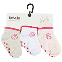 DeFacto Kız Bebek 3'lü Uzun Çorap
