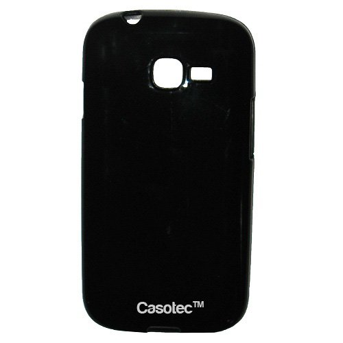 Casotec Soft TPU Back Case Cover for Samsung Galaxy Star Pro S7262 - Black  available at amazon for Rs.165